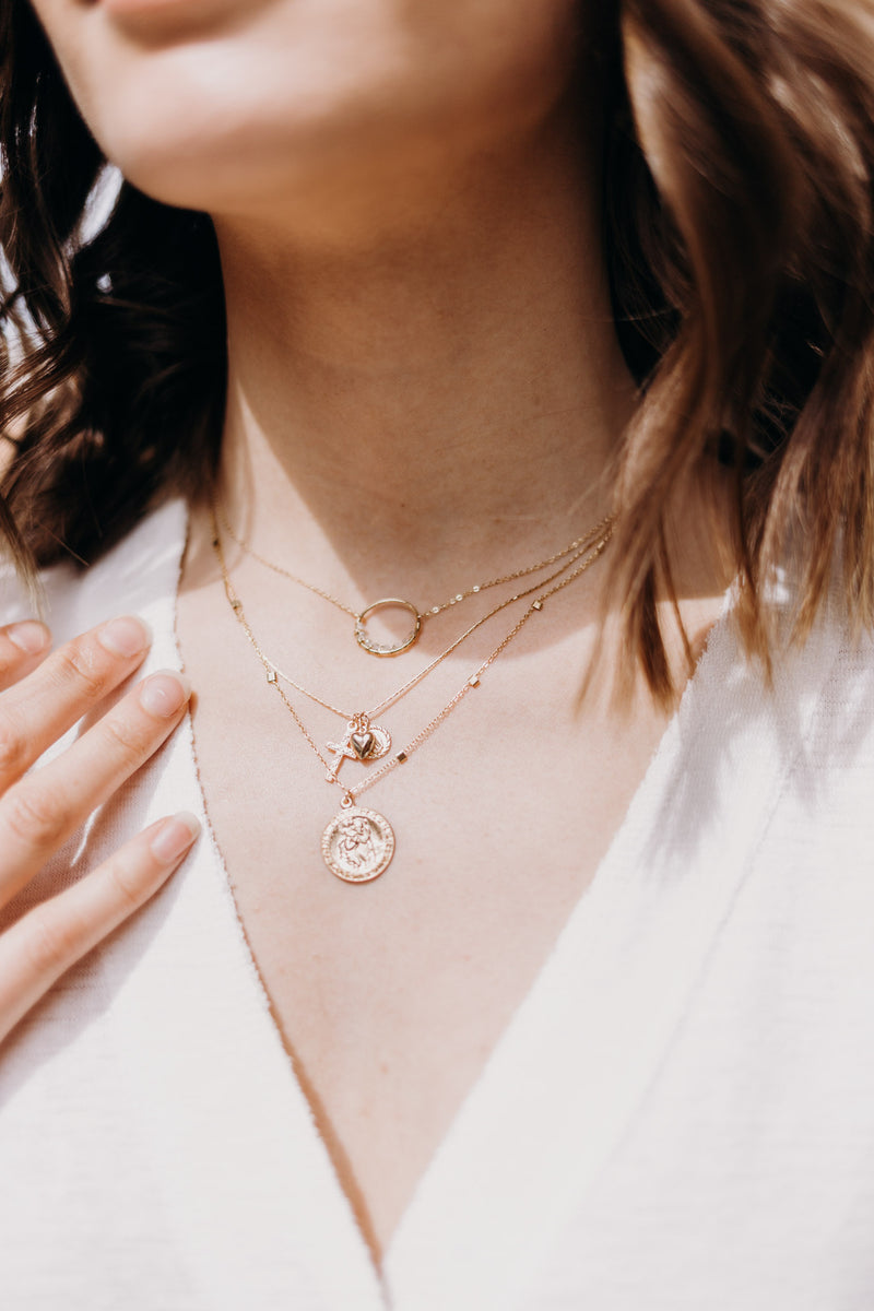 Celine Moonstone Necklace