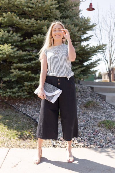 Nala Linen Culottes - RUST & Co.