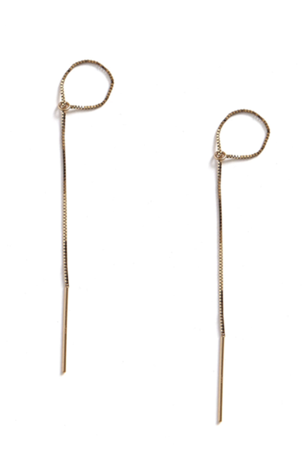 Theo Threader Earrings