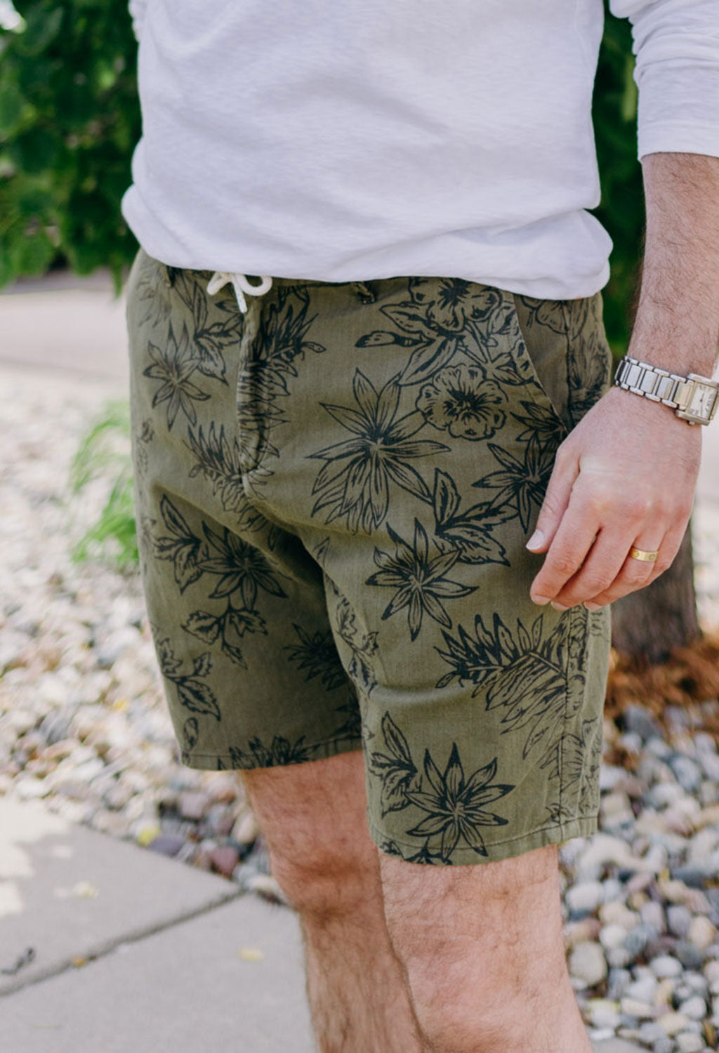 Scotch & Soda Cotton-Linen Short