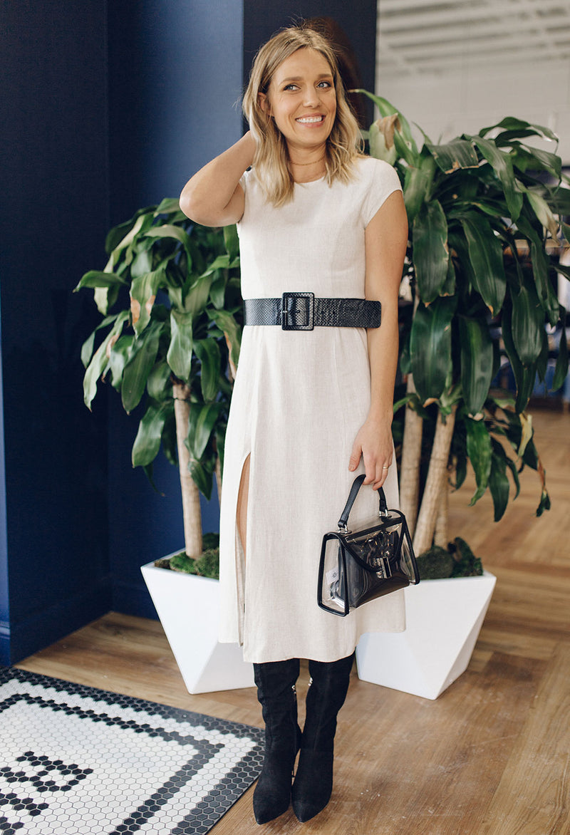 Willow Midi Dress With Side Slit