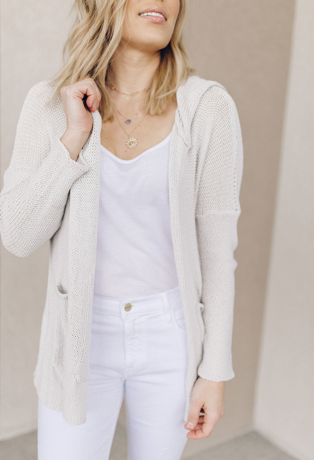 Marina Hooded Cardigan