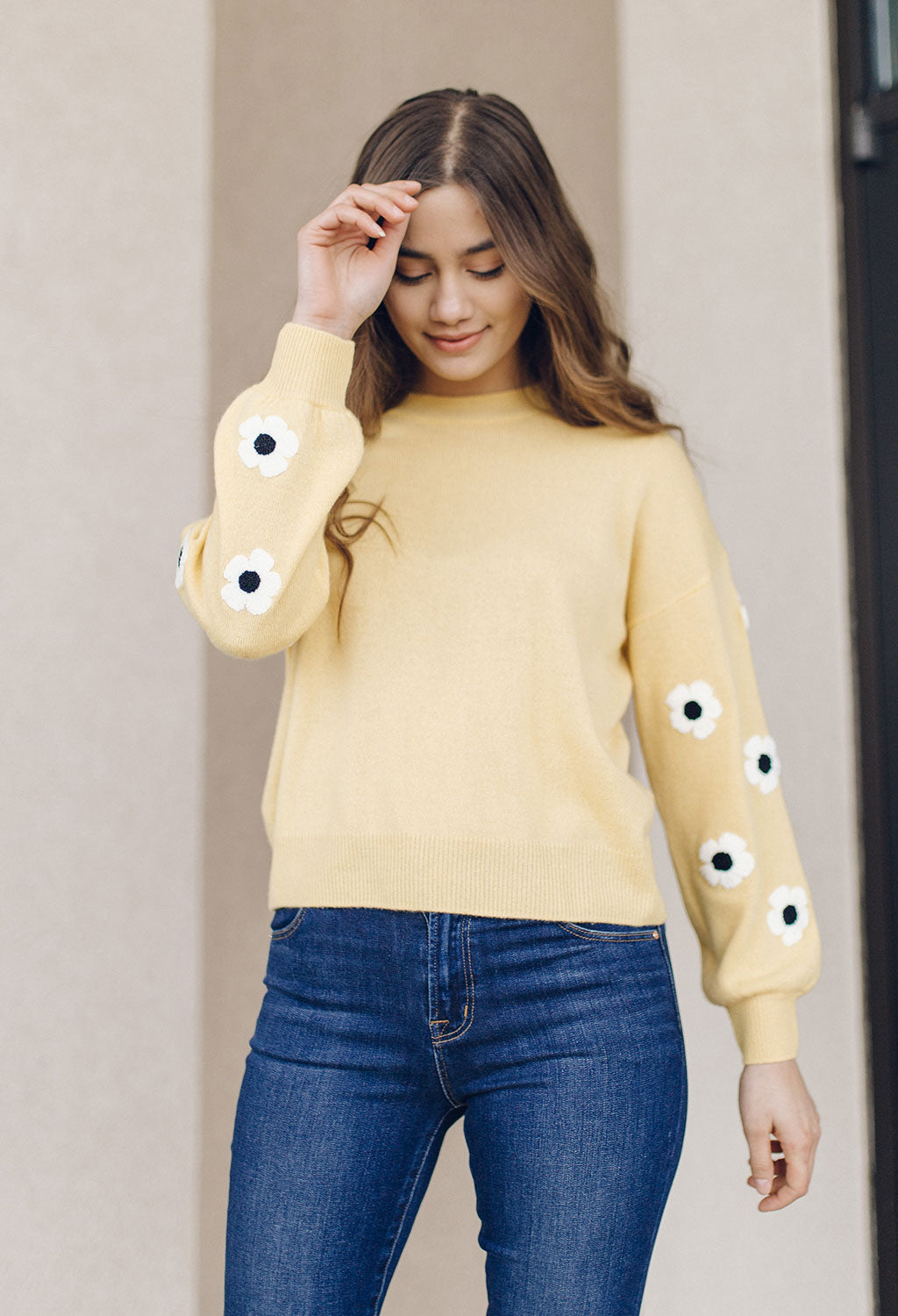 27 Miles Cashmere Tennessee Daisy Sweater