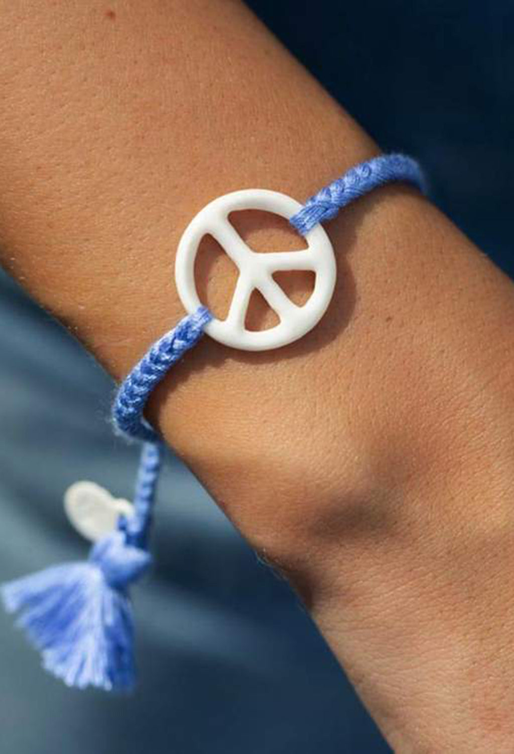 Peace Sign Bracelet - RUST & Co.