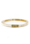 Horn 'Love' Bangle Bracelet - RUST & Co.