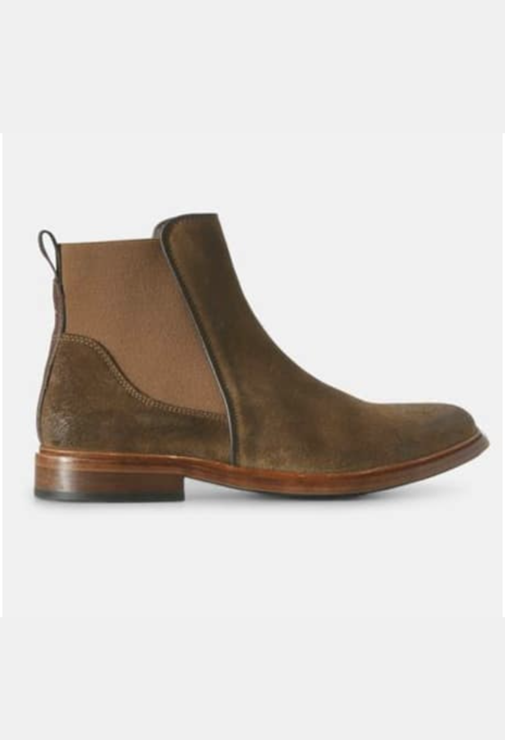 Wyatt Brown Suede Pull-On Boot