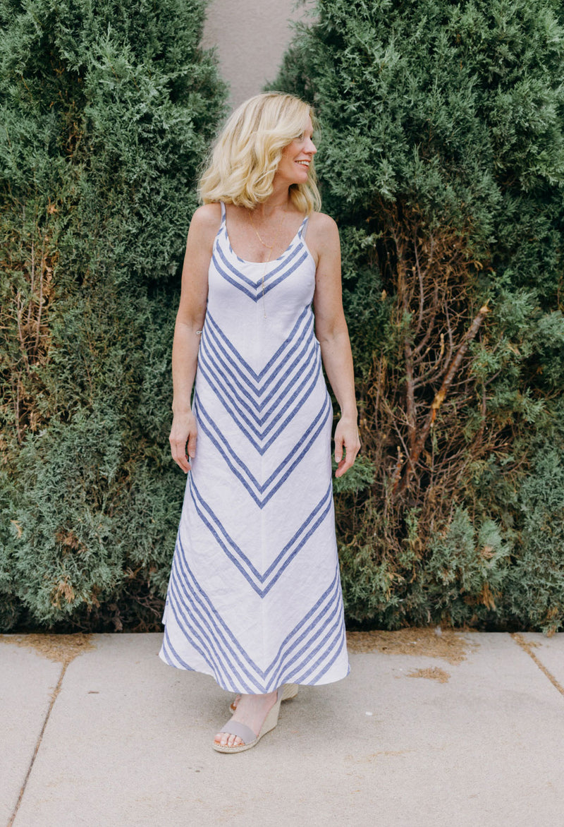 Maxi Stripe Sun Dress