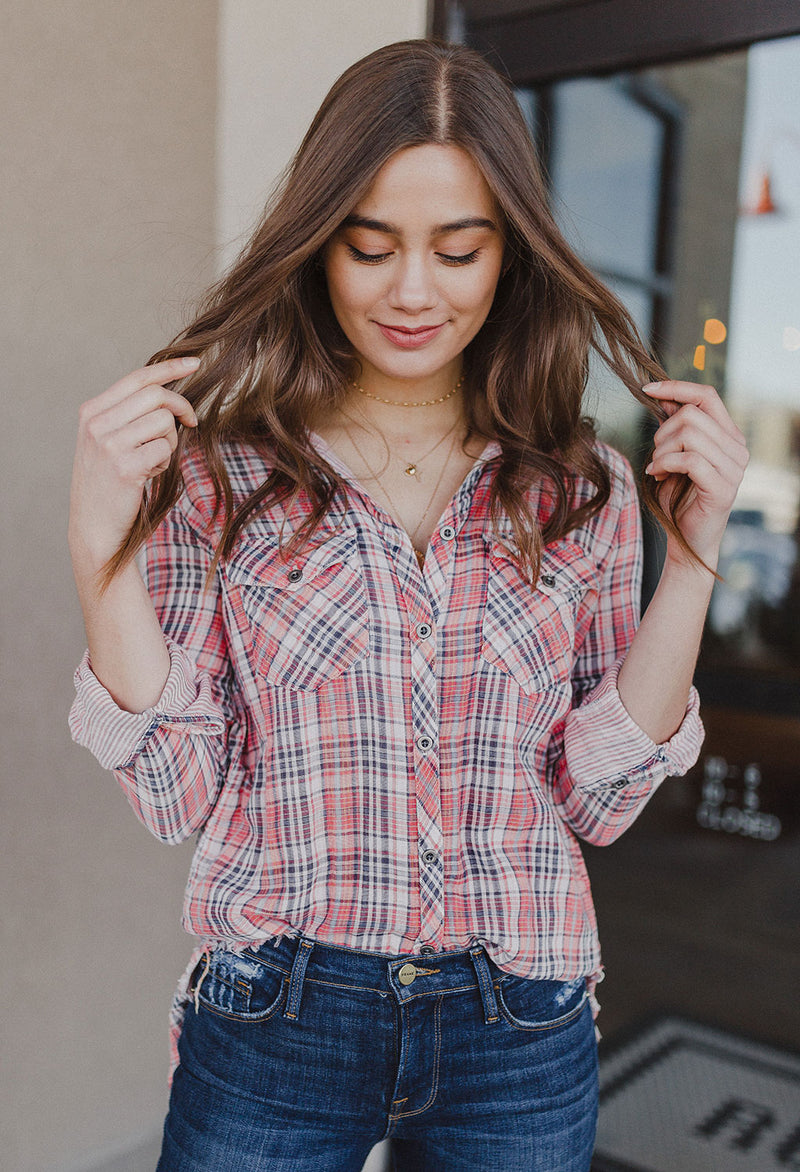 Nora Double Face Plaid