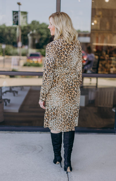 Frame Sgt Pepper Leopard Print Silk Dress - RUST & Co.