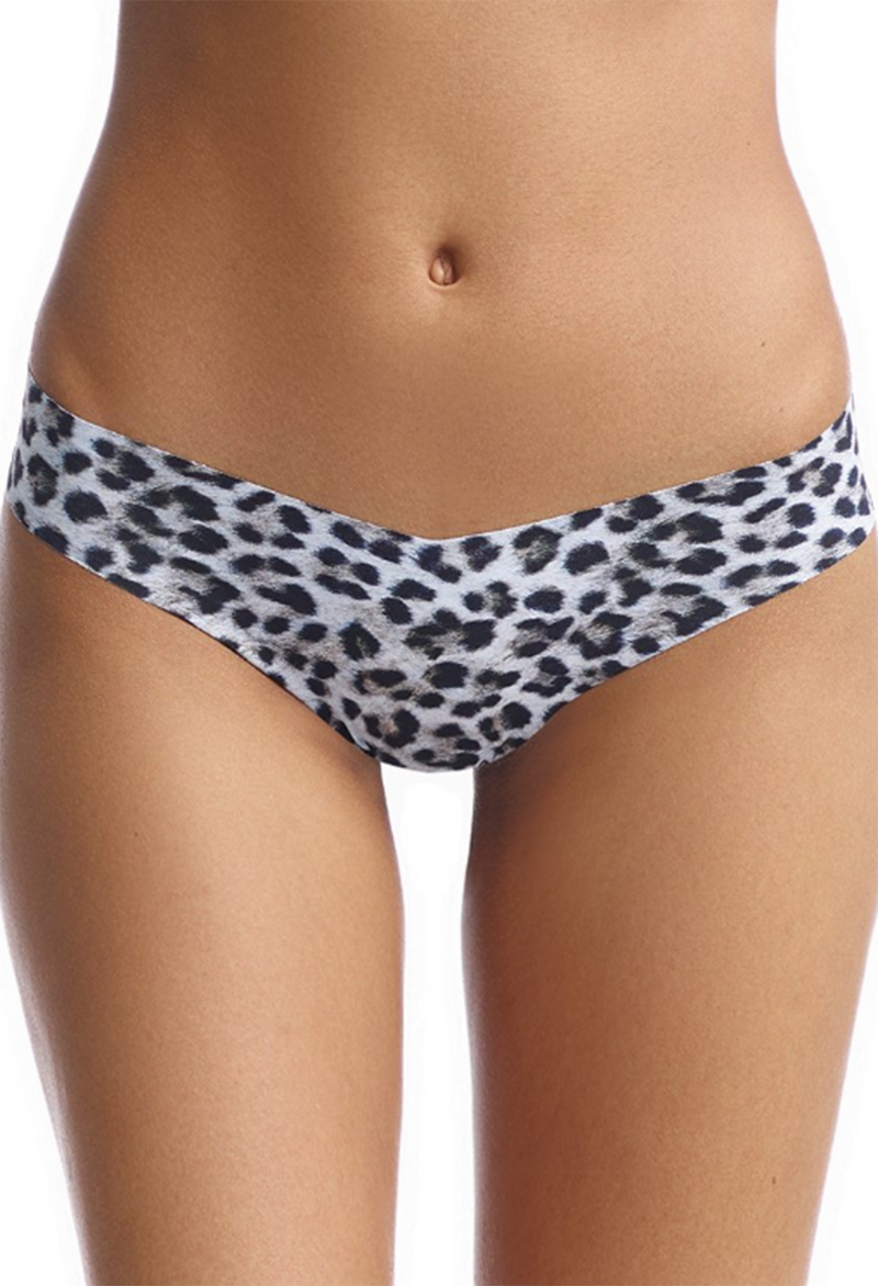 Commando Thong Underwear, Snow Leopard