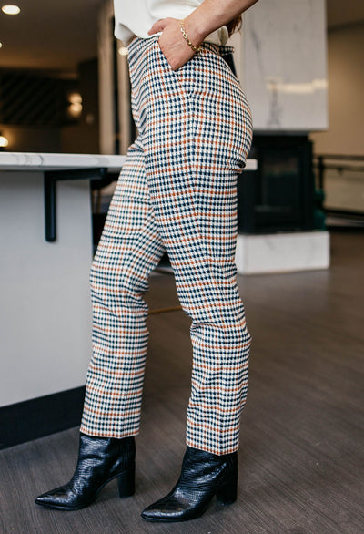 Scotch & Soda Reign Houndstooth Check Pant