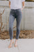 Frame Le Skinny De Jeanne Raw High Slit Jeans - RUST & Co.