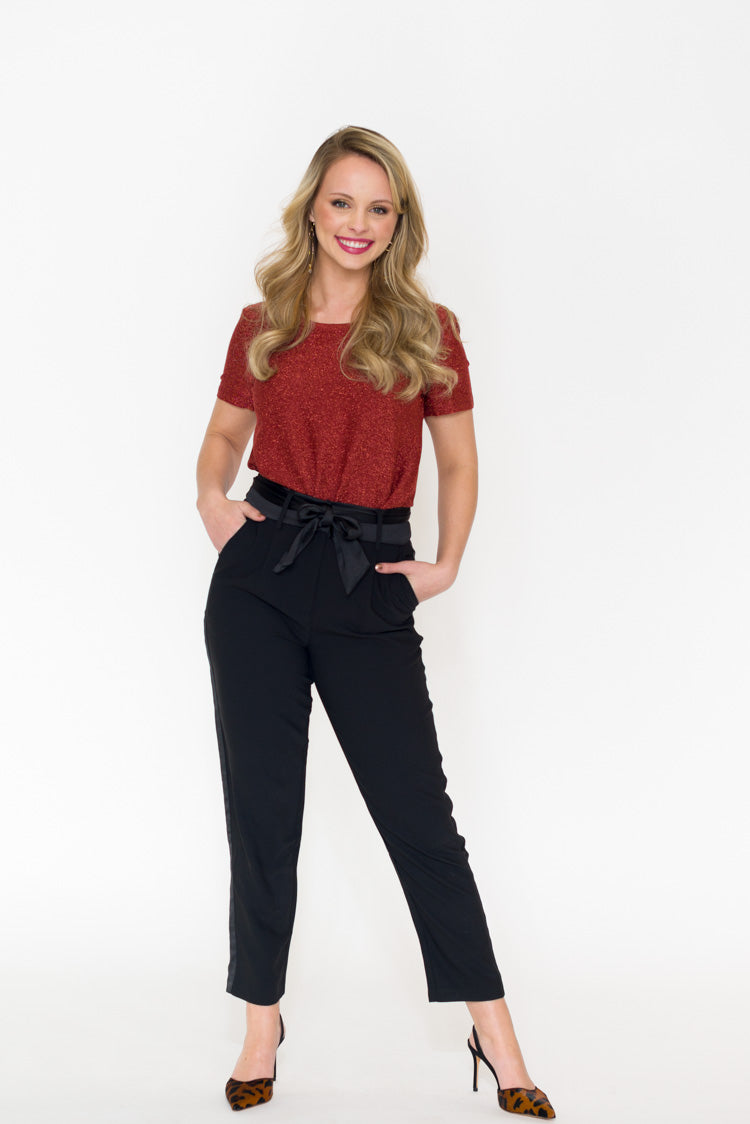 Reagan Belted Trouser