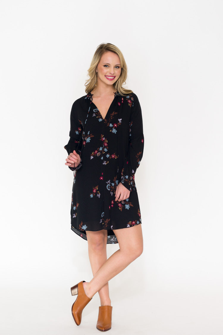 Rosatello Floral Dress