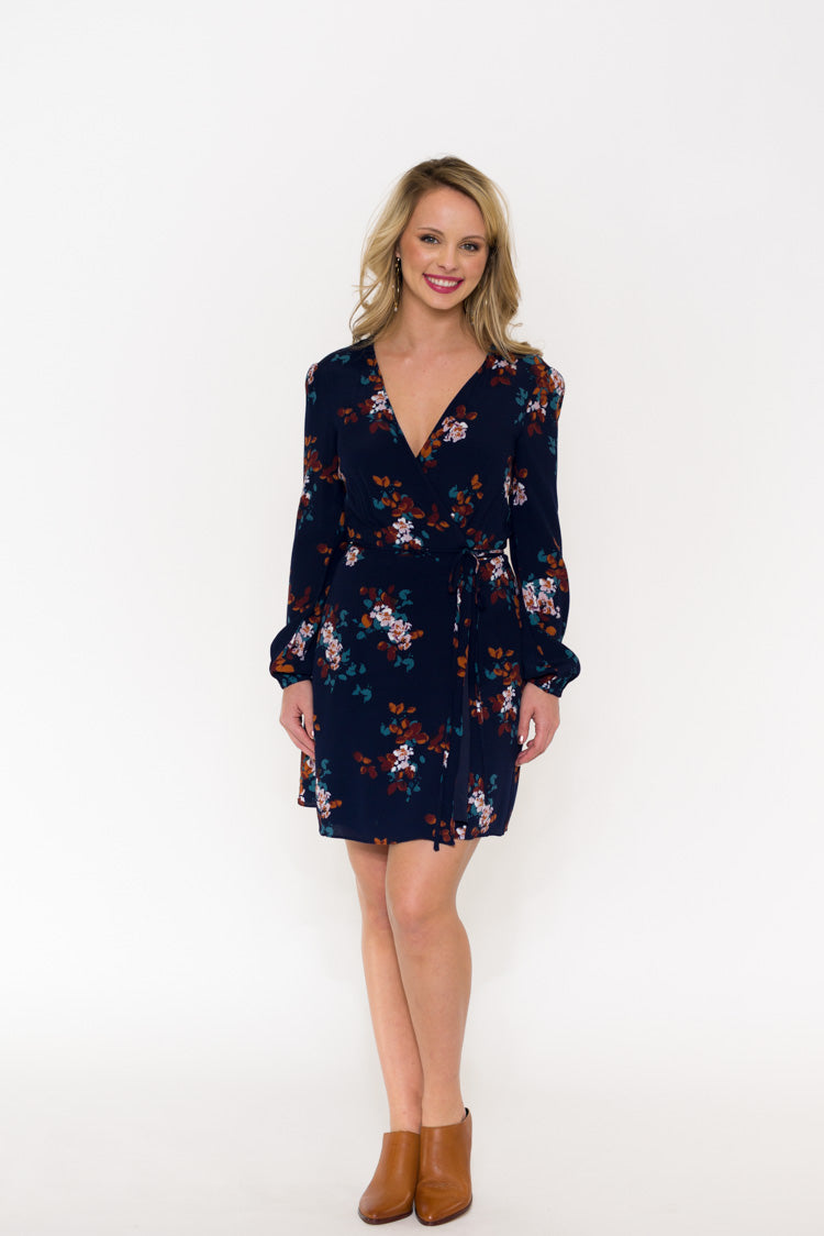 Kathleen Wrap Dress