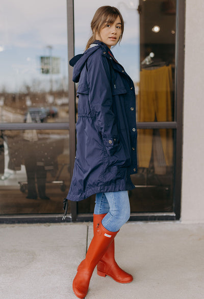 Long Anorak With Removable Hood - RUST & Co.