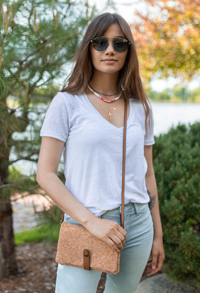 Valerie Light Weight Linen V-neck Sweater Tee