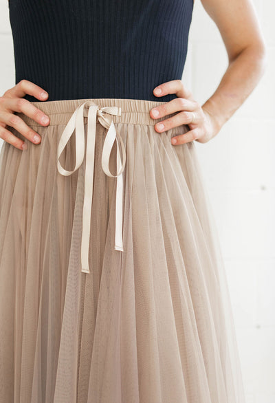 Bella Tulle Maxi Skirt