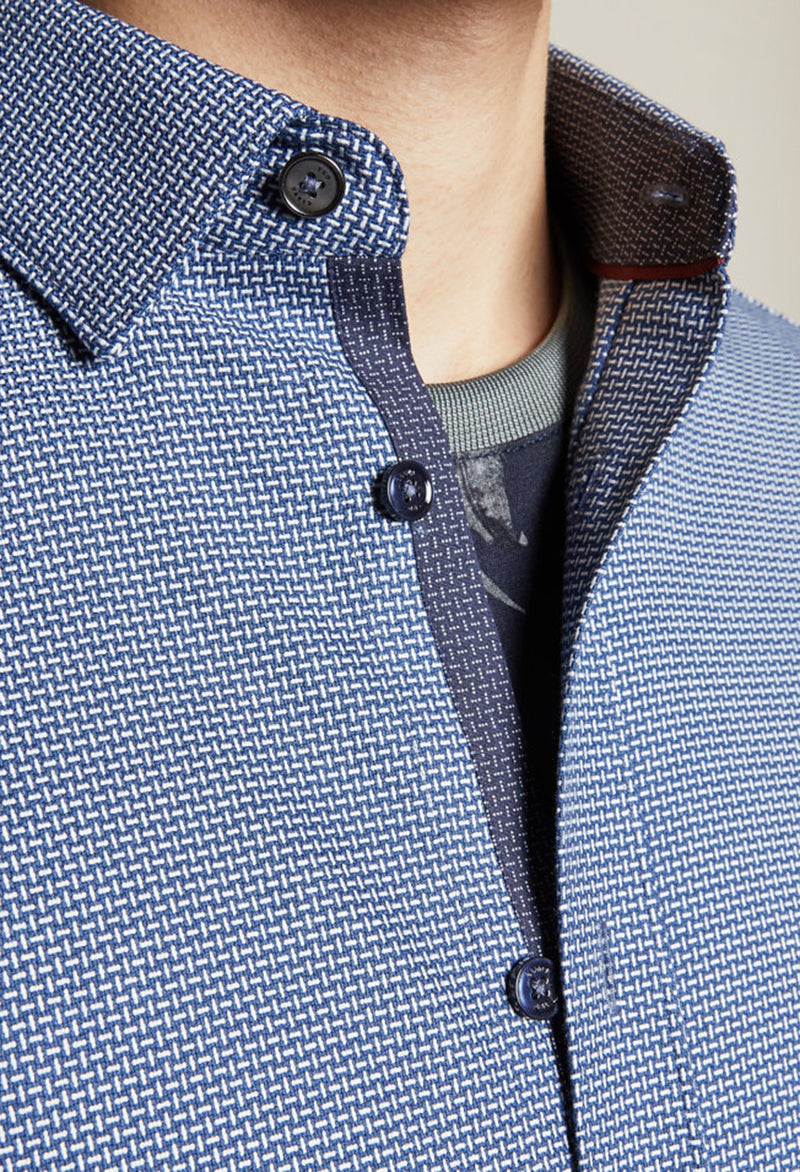 Ted Baker Velos Shirt in Blue