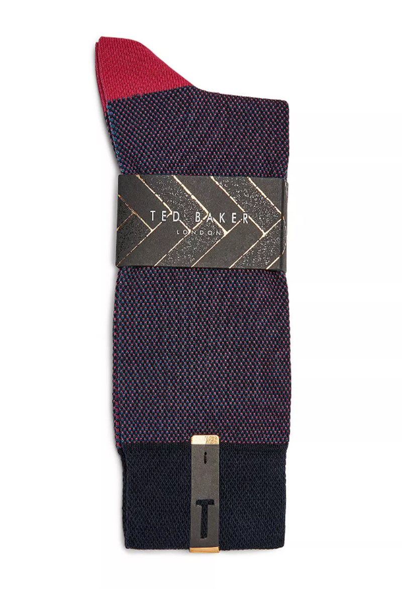 Ted Baker Joaquim Cotton Textured Socks
