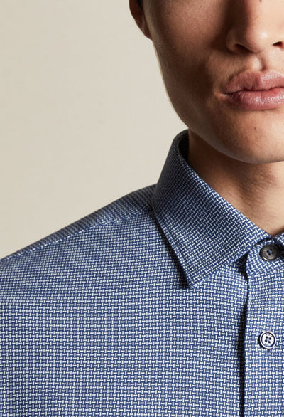 Ted Baker Velos Shirt in Blue - RUST & Co.
