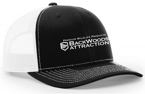 Black/White Trucker Cap