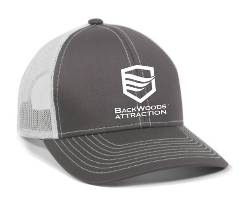 Charcoal/White Trucker Cap