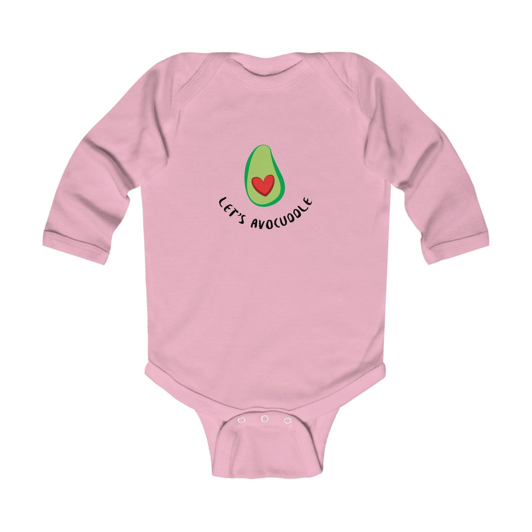 Let's Avocuddle Vegan Baby Bodysuit