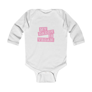 My Daddy Is Vegan Baby Bodysuit