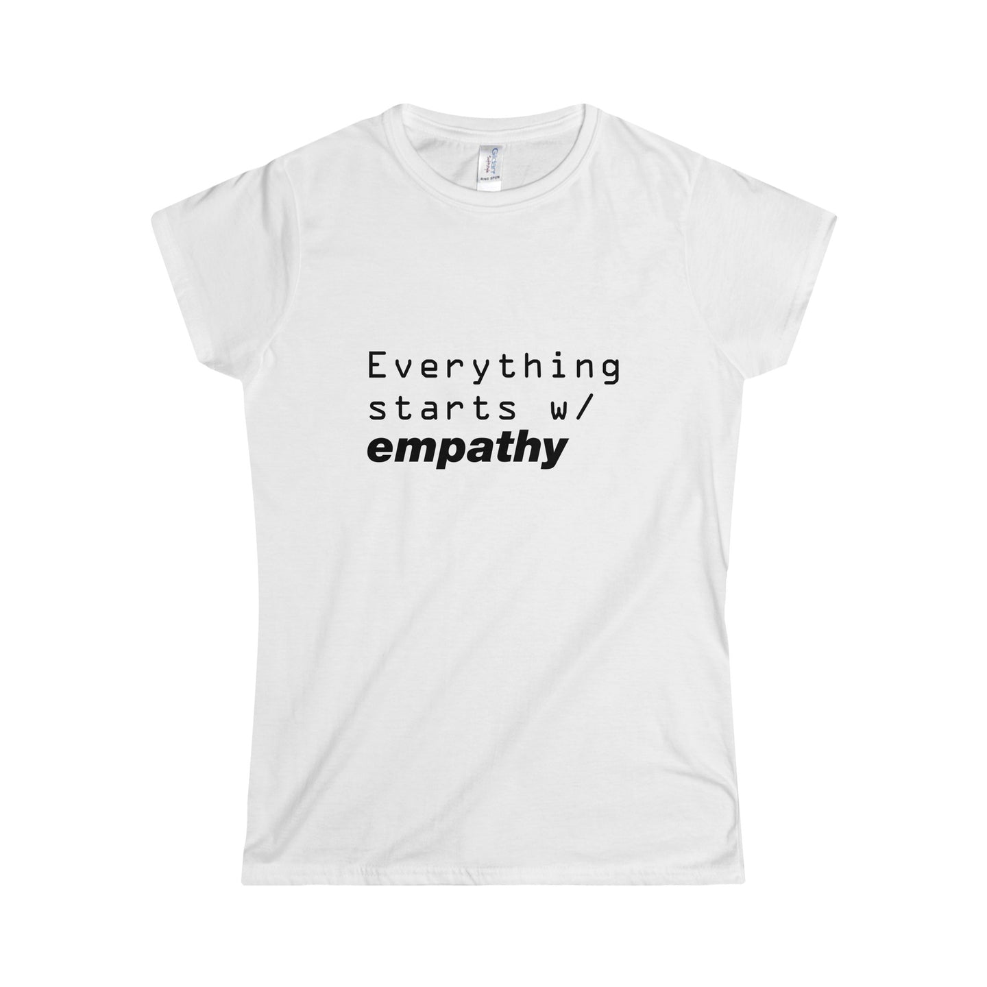 Everything Starts W/ Empathy Vegan T-Shirt