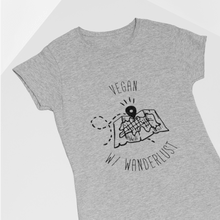 Vegan W/ Wanderlust Map T-Shirt