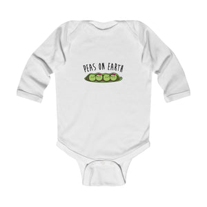 Peas On Earth Vegan Baby Bodysuit