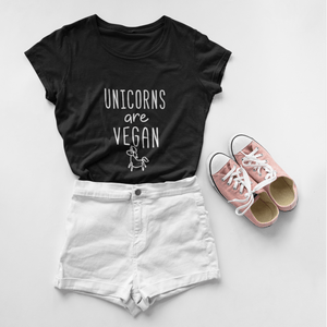 Unicorns Are Vegan T-Shirt