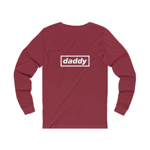 Vegan Daddy Double Design Unisex Long Sleeve T-Shirt