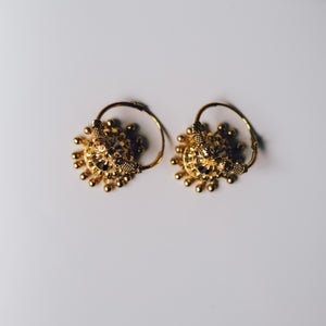 Indian Nights Earrings - Presea Gold Sterling Silver Jewellery Gemstone Jewelry