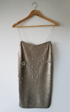 Load image into Gallery viewer, Selina Dress | Mini Sequin Dress with Adjustable Strappy Back - Presea Gold Sterling Silver Jewellery Gemstone Jewelry