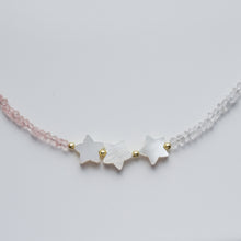 Load image into Gallery viewer, Star necklace with natural gemstones - Presea Gold Sterling Silver Jewellery Gemstone Jewelry
