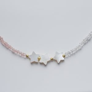 Star necklace with natural gemstones - Presea Gold Sterling Silver Jewellery Gemstone Jewelry
