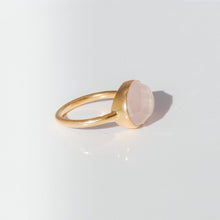Load image into Gallery viewer, Pink Quartz Ring - Presea Gold Sterling Silver Jewellery Gemstone Jewelry