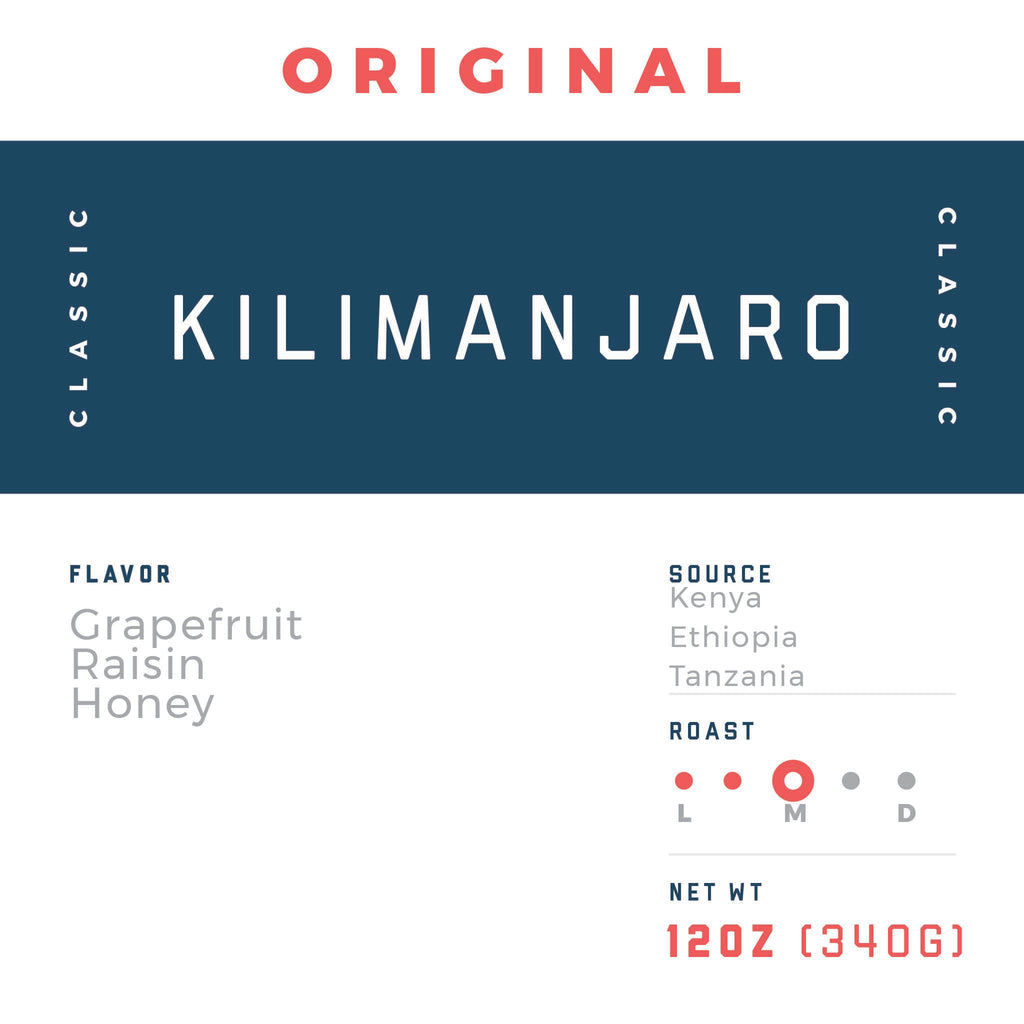Kilimanjaro - Jaho Coffee & Tea