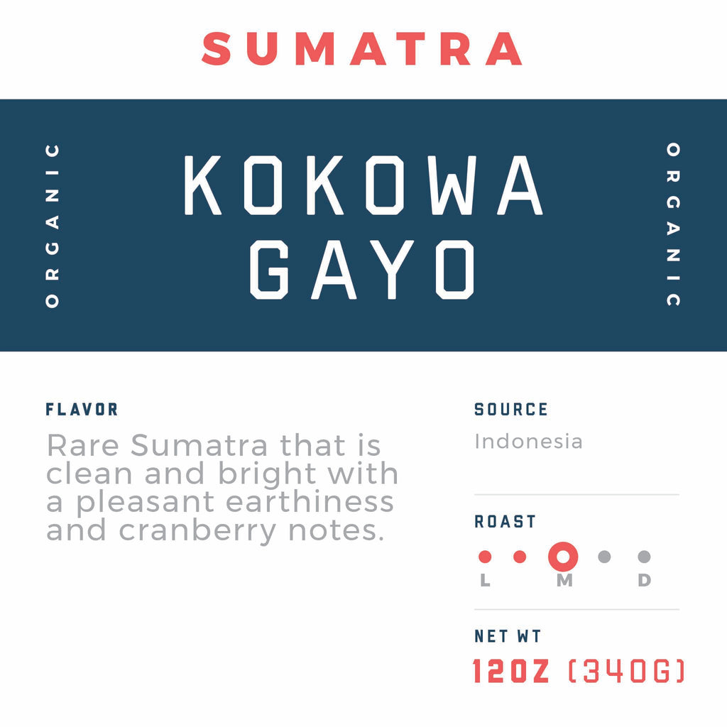 Sumatra Kokowa Gayo Supreme - Jaho Coffee & Tea