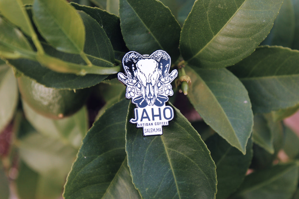 Jaho Enamel Pin - Jaho Coffee & Tea