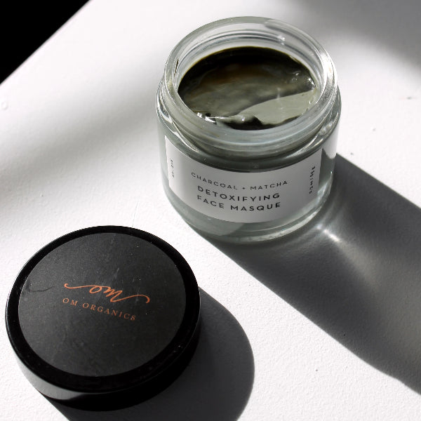 Charcoal + Matcha Detoxifying Face Masque