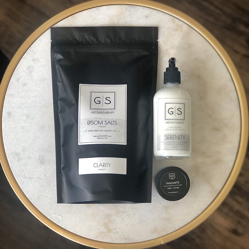 G|S HOME + AROMATHERAPY GIFT PACK