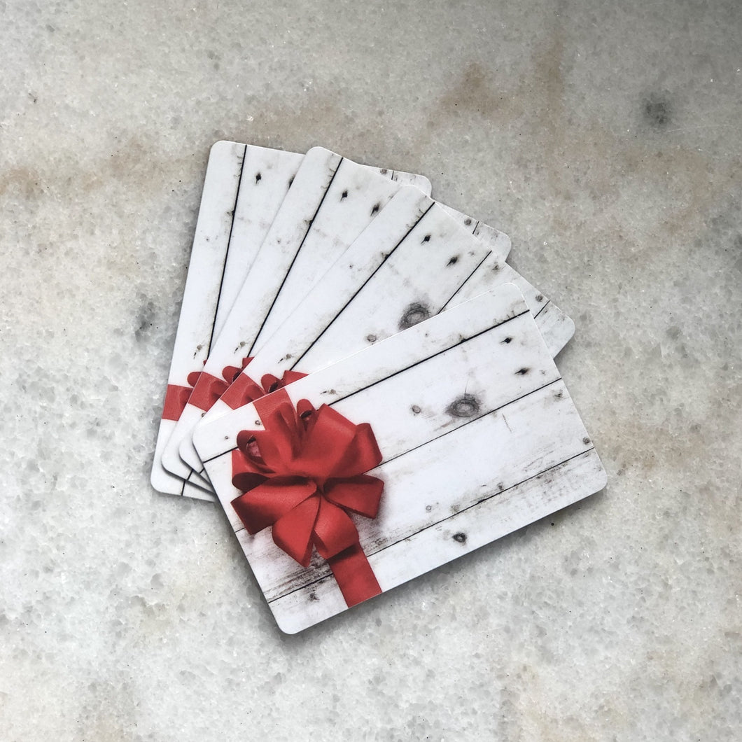 Gift Card (starting from)