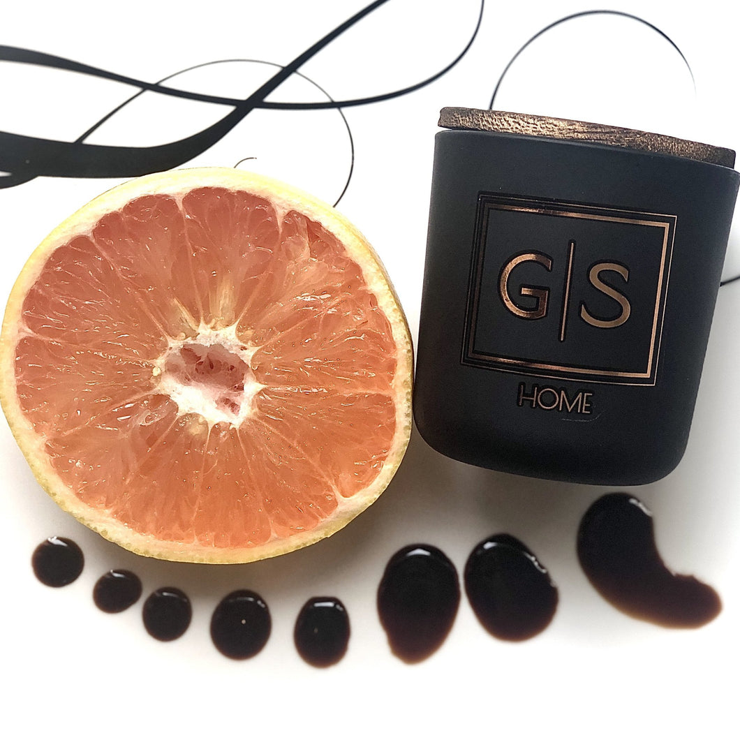 GRAPEFRUIT + BALSAMIC GREENS G|S Home Soy Candle