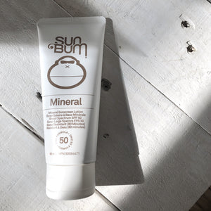 Sun Bum SPF 50 Mineral Sunscreen Lotion