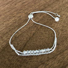 Load image into Gallery viewer, Rhinestone & Bead Bracelet