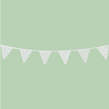 Load image into Gallery viewer, Lace bunting