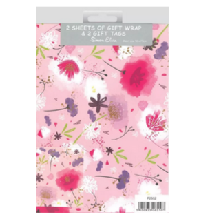 Wrapping paper pack - floral - Hunnypot House